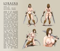 Lykaina Ref. Sheet by ares12