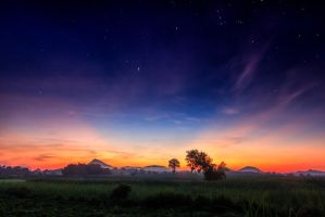 Dawn by kohchangphotography