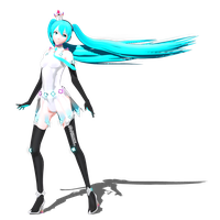 .: DL Series :. Kuroyu Racing 2013 Miku Hatsune by Duekko