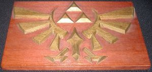 Triforce Relief by Trigononamous