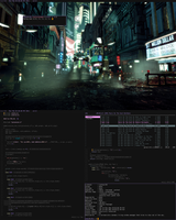 Arch + Blade Runner by edma2