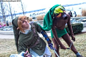 Katsucon 2015 - Zelda May Cry(PS) 08 by VideoGameStupid