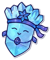 Paper Mario: Crystal by Louivi
