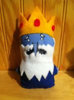 Ice King Mini Plushie by snowtigra