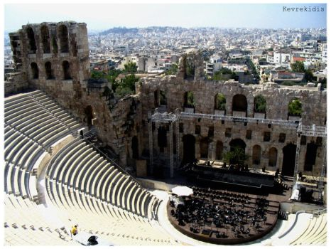 Acropolis 05 Odeon of Herodes by Kevrekidis