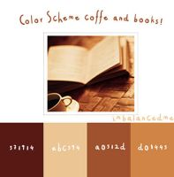 Coffee and books color scheme. by imbalancedme