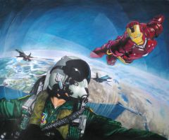 Ironman wingman by thunder2165