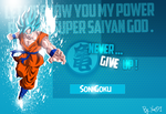Wallpaper Goku SSGSS hd by Said971