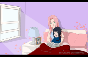 Mother and Son by sasusaku-uchiha0718