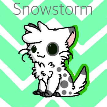 Snowstorm by That-Lineart