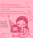 To My Babyface ABUBUBUBU!! by Ask-MusicPrincess3rd