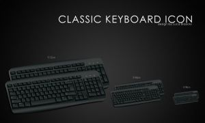 classic keyboard icon by bisiobisio