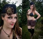 Steampunkini - The Steampunk Bikini by AyraLeona