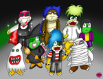 Halloween Koopalings by Cpr-Covet