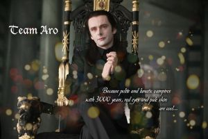 Wallpaper: Team Aro by CrisRaquel