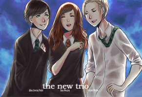 HP: new trio by anamoar