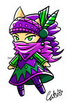 Chibi Warrior by iluvcats111