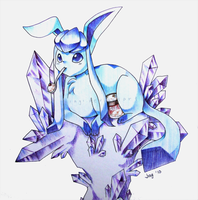 Pen Commission: Glacia by Jiayi