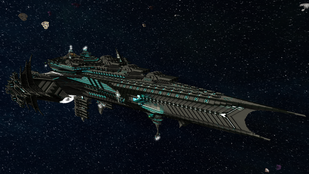 GCBS-Archangel a Glaive Class variant by CW390