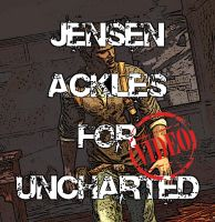 Jensen Ackles for Uncharted by luckynumberslvn