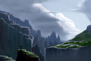 mountains by lvlapple