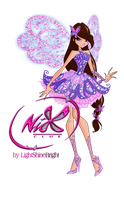 WINX:Serena Butterflix by lightshinebright