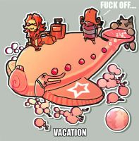 Vacation... so fluffy by Fealasy
