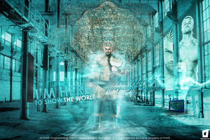 Dolph Ziggler World Heavyweight Champion by Omarison