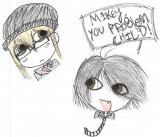 Mikey You Problem Child by emutional