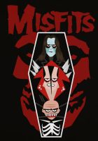 Oblong Box Misfits by after-the-funeral