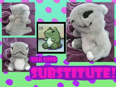 Substitute plush by scilk