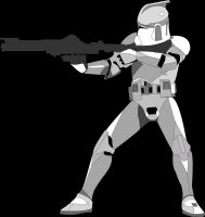 Clonetrooper Vector by Neo2009