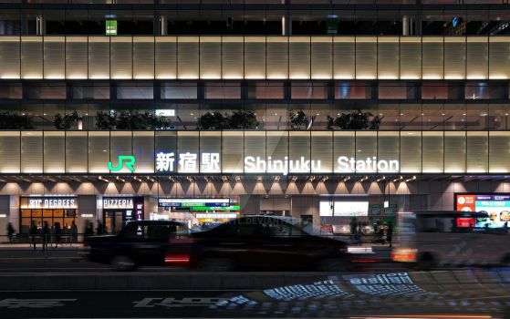 The busiest station, in the world by studioktl