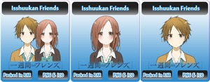 Isshuukan Friends - Anime Icon by Rizmannf