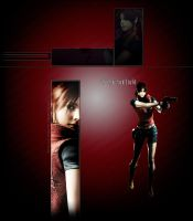 Claire Redfield RE2 Youtube by FadedBlackangel