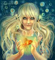 Song of the goldfish by Lo-Lo-Liya