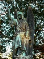 Another old Angel Statue by AngelOfDarkness089