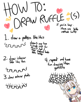 how 2 draw ruffles: a super fun guide by me by kinghamlet