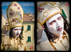 Lucca 2011 cosplay - Marilyn Manson by stcristofani