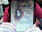 my new art journal by vivsters