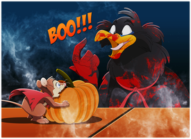NIMH: Jeremy's Halloween Scare by WhiteLionWarrior