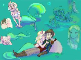 A mermaid's tale by Gorseheart
