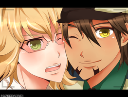 TnB - Kotetsu and Barnaby by finnborden