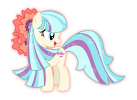 Coco Pommel rainbow power by aqua-pony