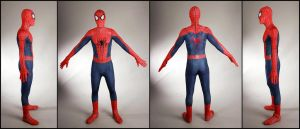 Amazing Spider-man 2 suit, 360* by SpenceOlson