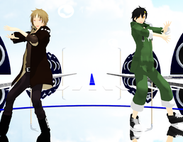 [MMD Kagerou Project] SPLASH FREE [Video] by SapphireRose-chan