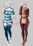 Summer winter outfits by Tori001