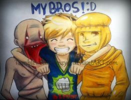 MY BROS! :D by TumbleweedFrenzy