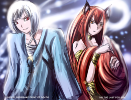 Nu and Shiroi for Shiroi by Frost7