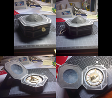 Papercraft: PotC Compass by Tsunaide